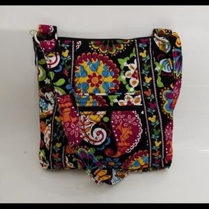 New Vera Bradley hipster midnight with mickey